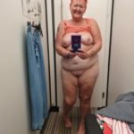 selfie grosse femme 60 ans