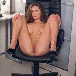 photo d'une secrétaire salope
