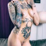 coquine tatouée